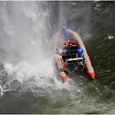 Rafting on Iguacu River, Argentina/Brazil