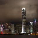 Harbour View with One IFC and Bank of China, Hong Kong