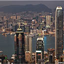 View from Victoria Peak, Hong Kong, China