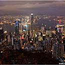 Skyline as seen from Victoria Peak, Hong Kong