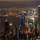 Hong Kong Harbour View, Victoria Peak, China