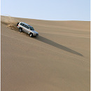 Sand Dune Riding, Inland Sea, Qatar